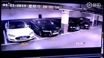У Китаї вибухнула Tesla - фото 1