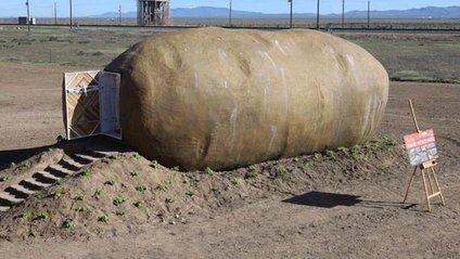 Будинок у вигляді картоплі у США - фото 1