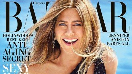 Дженніфер Еністон знялася для Harper's Bazaar - фото 1