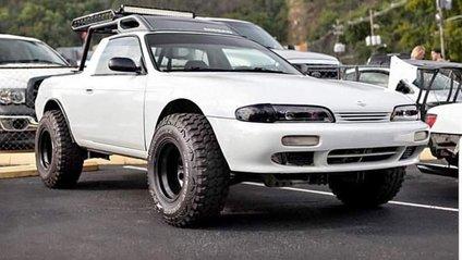 Спорткар Nissan Silvia перетворили у пікап - фото 1