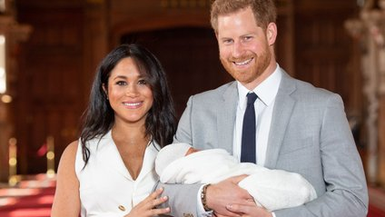 Меган і Гаррі з сином - фото 1