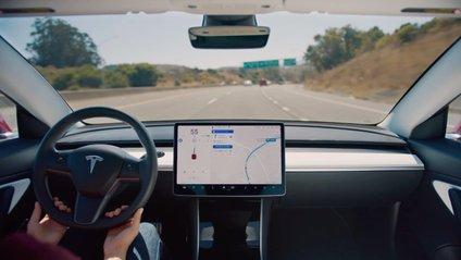Як працює автопілот Tesla у грозу - фото 1