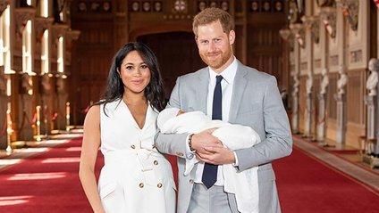 Меган Маркл і принц Гаррі показали нове фото сина - фото 1