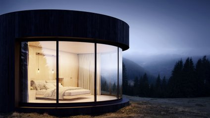 """Туристи зможуть заночувати у розкішному """"наметі"""" - фото 1"""