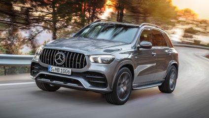 Mercedes-Benz GLE вразив своєю потужністю - фото 1
