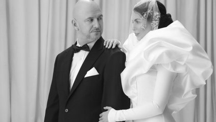 Настя Каменських вразила весільною сукнею - фото 1