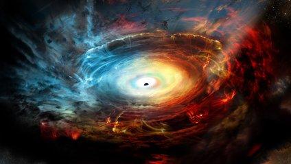 Щоб провести дослідження, їм потрібно було змоделювати чорну діру - фото 1