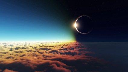 Перше затемнення Сонця показали на відео - фото 1