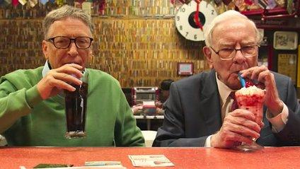 Білл Гейтс і Воррен Бафіт - фото 1
