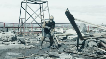 Ліквідатори в серіалі Чорнобиль - фото 1