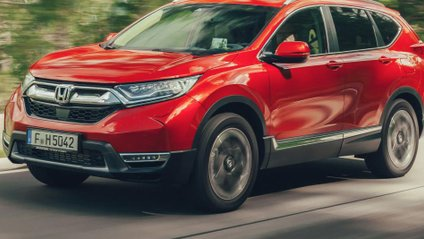 Розкішна Honda CR-V - фото 1