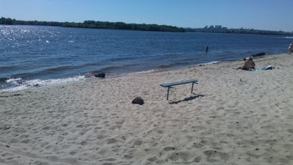 Пляж Осокорки - фото 1