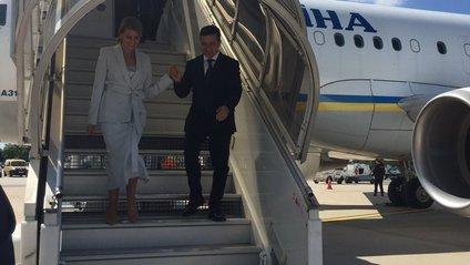 Володимир і Олена Зеленські прибули до Франції - фото 1
