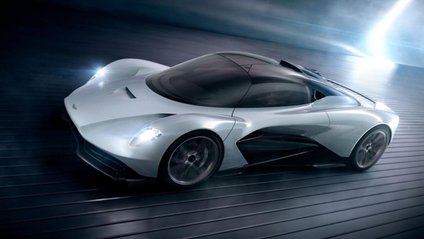 Aston Martin Valhalla – нове авто Джеймса Бонда - фото 1