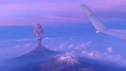 Виверження вулкана у Мексиці - фото 1