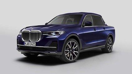 BMW X7: компанія показала гігантський і потужний пікап - фото 1