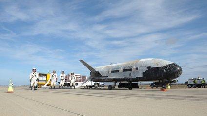 Астроном сфотографував космічний літак Пентагону - фото 1