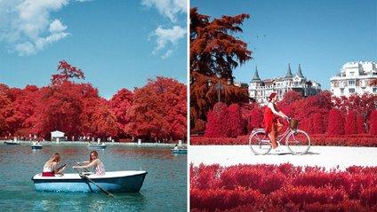 Як виглядає інфрачервоний Мадрид - фото 1