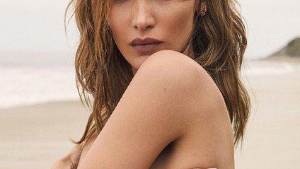 Белла Хадід роздяглась для Elle - фото 1