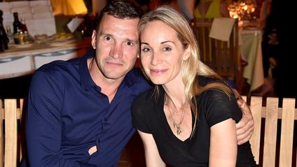 Андрій Шевченко з дружиною - фото 1