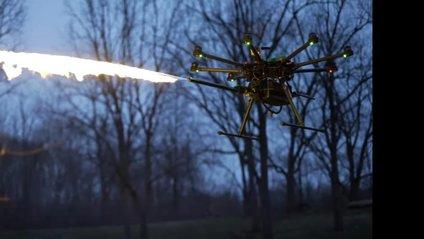 Безпілотний вогнемет TF-19 Wasp - фото 1