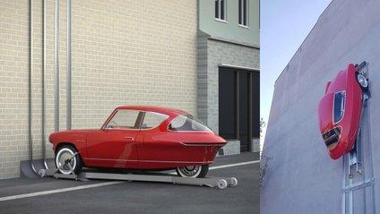 Автомобіль можна паркувати на стіні - фото 1