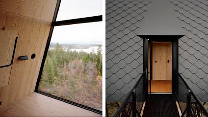 Дім посеред лісу в Норвегії - фото 1