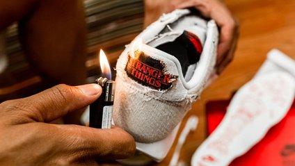 Nike створив кросівки у стилі Дуже дивних справ - фото 1