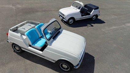 Renault 4 став кабріолетом на електротязі - фото 1