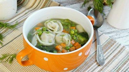 Рецепт пельменного супу - фото 1