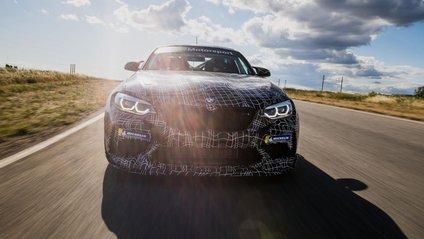 Попередній показ BMW M2 Competition запланований на 3 серпня - фото 1