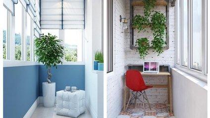Круті ідеї дизайну балкону - фото 1