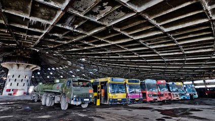 Автобусний парк №7 у Києві - фото 1