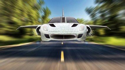 Прототип літаючого автомобіля - фото 1
