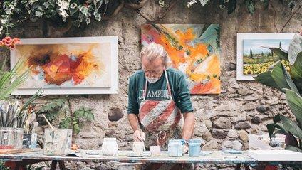 Цей художник відтворює відомі картини за допомогою продуктів і ось, що в нього виходить - фото 1