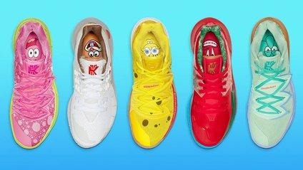 Нова колекція від Nike, присвячена мультфільму Губка Боб - фото 1