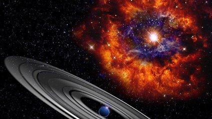 Викинута зіркою речовина створює навколо своєрідний кокон - фото 1