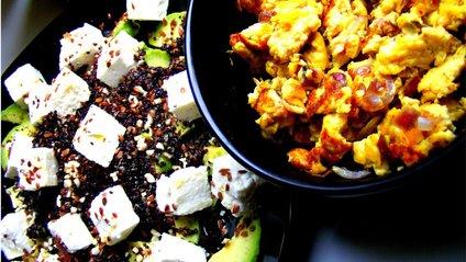 Салат з насінням льону - фото 1