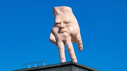 Величезна рука спентеличила користувачів - фото 1