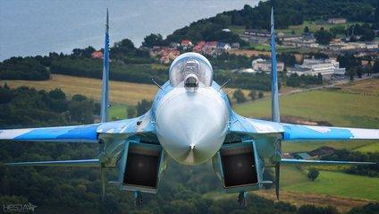 Юрій Булавка на Су-27 - фото 1