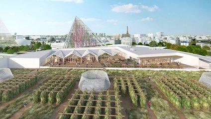 Город розкинеться на даху розважального комплексу - фото 1