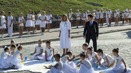 Олена Зеленська на День Незалежності - фото 1