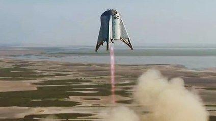Прототип корабля Starhopper - фото 1