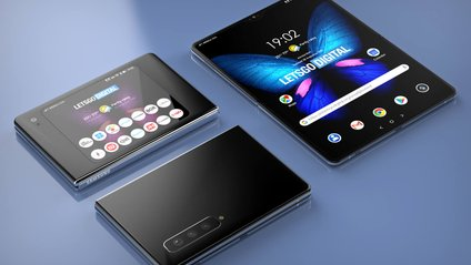 Так може виглядати Samsung Galaxy Fold 2 - фото 1