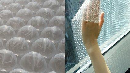 Круті ідеї з бульбашковою плівкою - фото 1