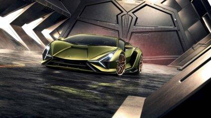 Lamborghini Sian - фото 1