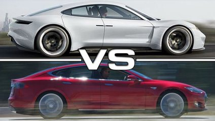 Tesla vs Porsche - фото 1