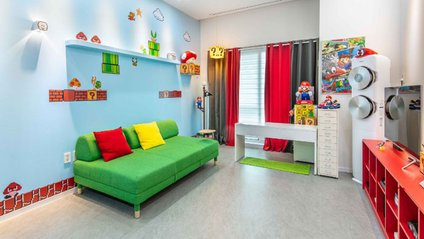 Хлопець створив кімнату у стилі Super Mario - фото 1