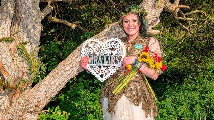 Незвичайне весілля - фото 1