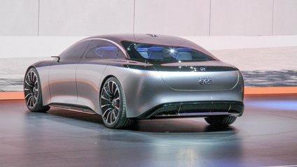 Mercedes-Benz Vision EQS став уособленням майбутнього S-класу - фото 1